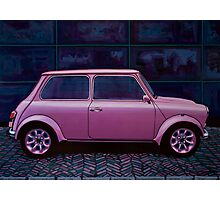 Austin Mini Cooper Painting Photographic Print