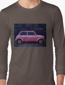 Austin Mini Cooper Painting Long Sleeve T-Shirt