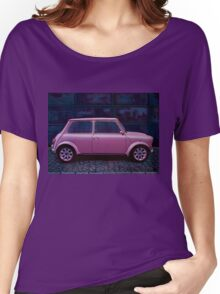 Austin Mini Cooper Painting Women's Relaxed Fit T-Shirt