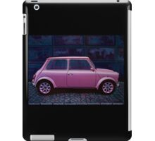 Austin Mini Cooper Painting iPad Case/Skin