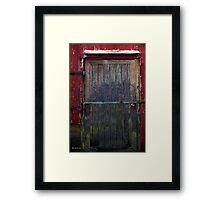 Motley Decay Framed Print