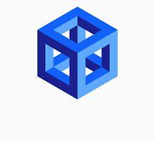 blue cube Unisex T-Shirt