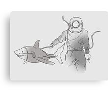 Deep-Sea Shark Bait Canvas Print