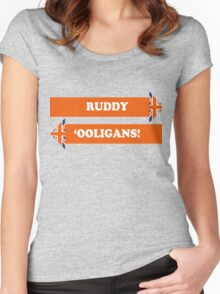 Dad's Army –Ruddy 'Ooligans! Women's Fitted Scoop T-Shirt