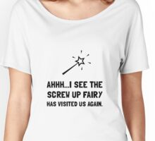 Screw Up Fairy Women's Relaxed Fit T-Shirt