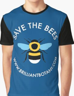 Save the Bees - Bumblebee Graphic T-Shirt
