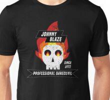 Johnny Blaze Professional Daredevil Unisex T-Shirt