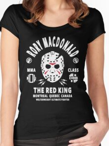 Rory Macdonald The Red King Women's Fitted Scoop T-Shirt