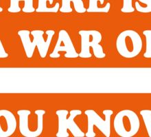 Dad's Army –There is a War On... Sticker