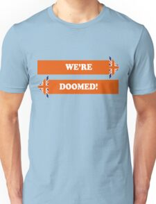 Dad's Army –We're Doomed! Unisex T-Shirt