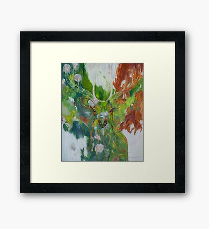 Reconnection to Spirit Framed Print