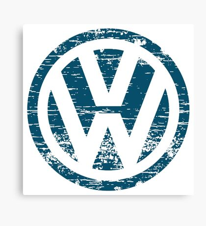 VW The Witty Canvas Print