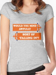 Dad's Army –Would You Mind Awfully...? Women's Fitted Scoop T-Shirt