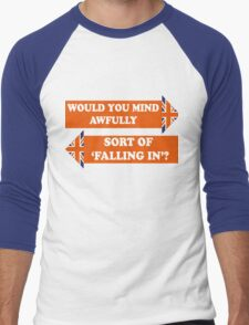 Dad's Army –Would You Mind Awfully...? Men's Baseball ¾ T-Shirt