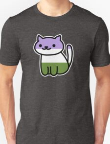 Neko Pride: Genderqueer T-Shirt