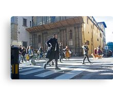 Florence, Italy Street Canvas Print
