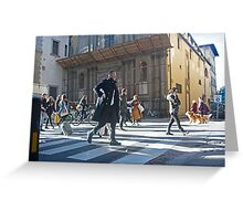 Florence, Italy Street Greeting Card
