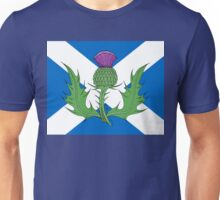 Scottish Thistle & Saltire Unisex T-Shirt
