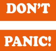 Dad's Army –Don't Panic! Sticker