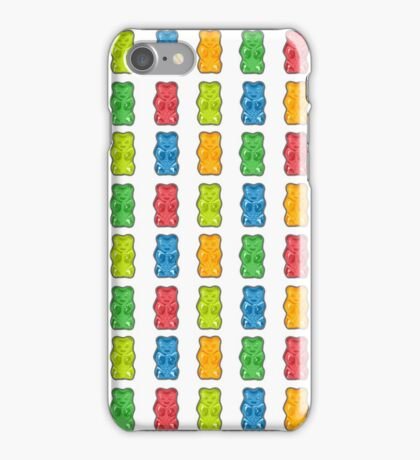 Rainbow Gummy Bears iPhone Case/Skin