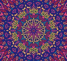 Paradise Sunset Mandala Sticker