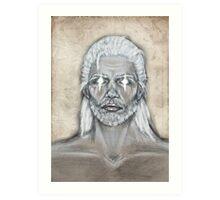 The Elders Scrolls- Skyrim- Nord Man Art Print