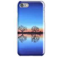 Sunset by the River Thames iPhone Case/Skin