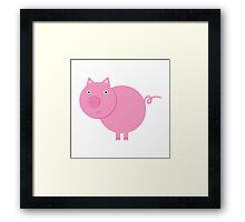 Mr. Piggy Framed Print
