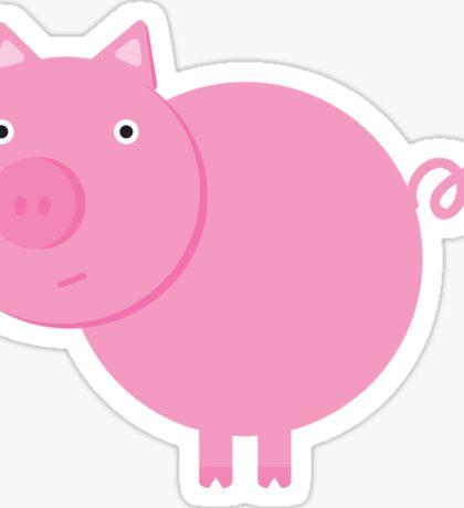 Mr. Piggy Sticker