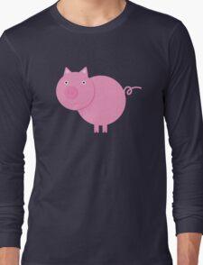 Mr. Piggy Long Sleeve T-Shirt