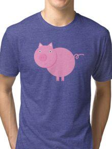 Mr. Piggy Tri-blend T-Shirt