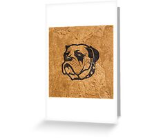 Tough Dog Greeting Card