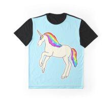 Rainbow Unicorn Graphic T-Shirt