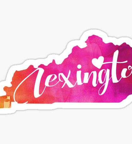 Lexington Sticker