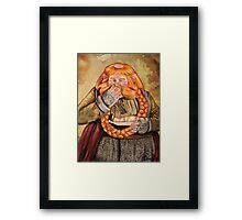 The Hobbit- Bombur Dwarf Framed Print