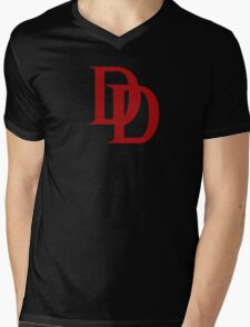 The Devil of Hells Kitchen Mens V-Neck T-Shirt