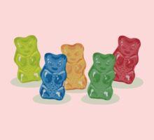 Gummy Bears Gang One Piece - Short Sleeve