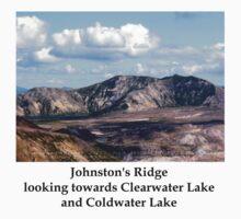 Lake and mountain view near Johnston's Ridge 2 One Piece - Short Sleeve