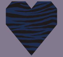0594 Royal Blue Tiger Kids Tee