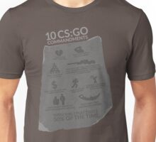 CS:GO Commandments Unisex T-Shirt