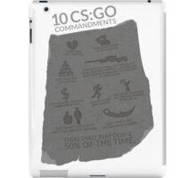 CS:GO Commandments iPad Case/Skin