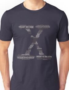Wisdom of X-Files (Gray) Unisex T-Shirt