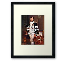 Napoleon x Star Wars Framed Print