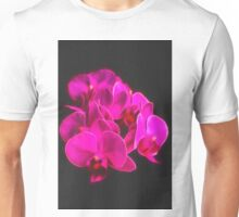 Photo art pink orchid Unisex T-Shirt