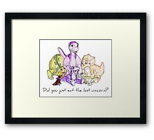 The Land Before Time: The Last Unicorn Framed Print
