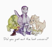 The Land Before Time: The Last Unicorn One Piece - Short Sleeve