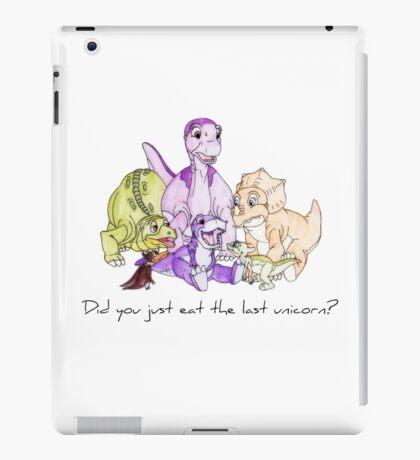 The Land Before Time: The Last Unicorn iPad Case/Skin