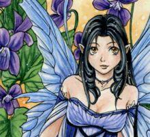 Celtic Violet Fairy t shirt Sticker