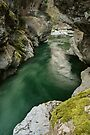 Green water under the bridge by Patrick Morand