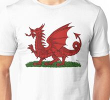 Red Dragon of Wales Unisex T-Shirt